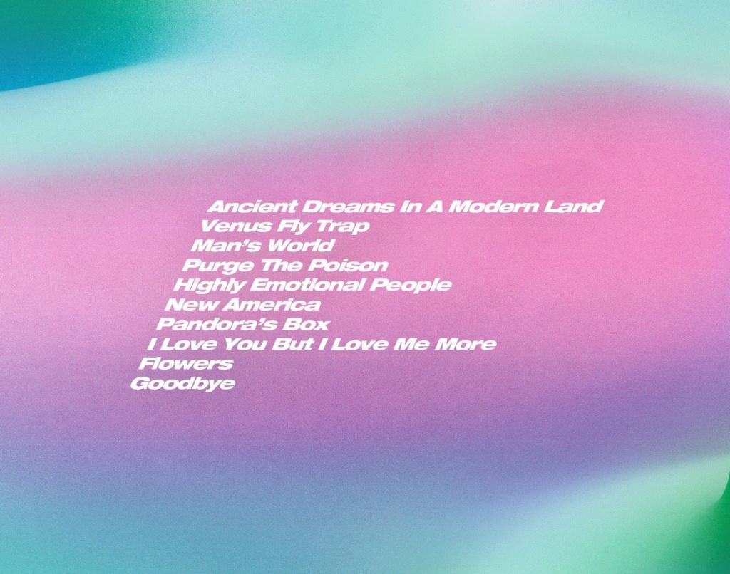 "MARINA >> álbum ""ANCIENT DREAMS IN A MODERN LAND"" 20210413"