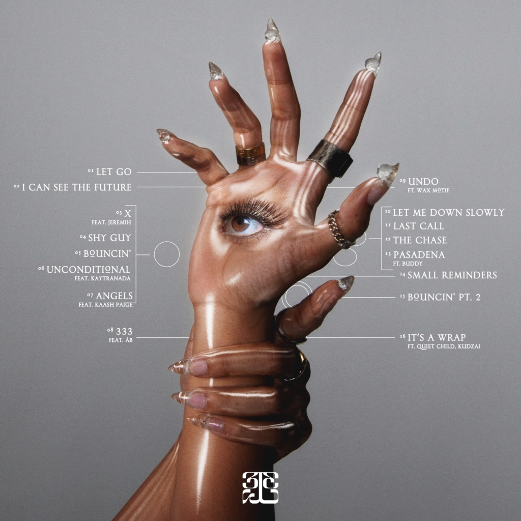 "Tinashe >> álbum ""333"" 20210713"