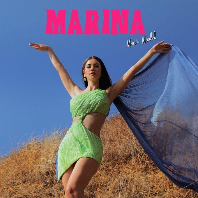 """MARINA >> Single """"Man's World""""  Marina10"""