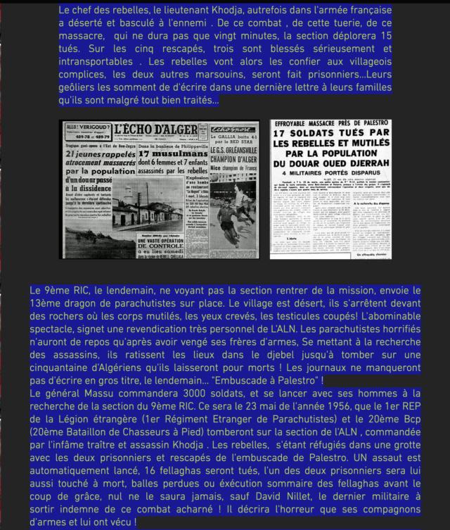 L'EMBUSCADE DES GORGES DE PALESTRO - Avril 1956 Captu194