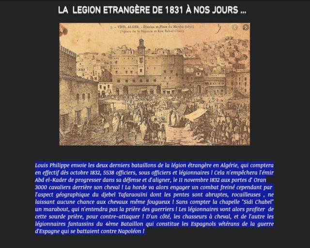 LA LEGION ETRANGÈRE 1835 Captu315