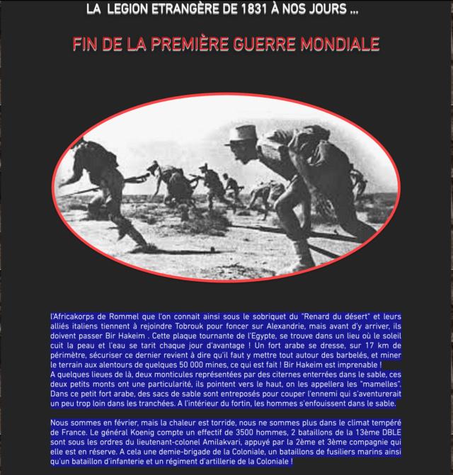 LÉGION ÉTRANGÈRE -1914-1918 ARMISTICE Captu429