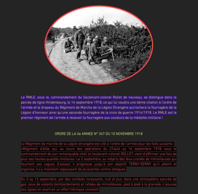 LÉGION ÉTRANGÈRE -1914-1918 ARMISTICE Captu431