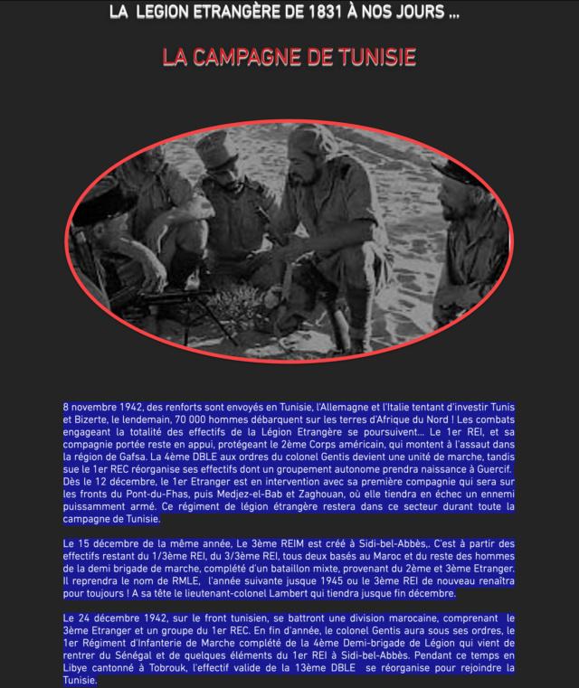 LÉGION ÉTRANGÈRE 1942 - 1943 Captu434