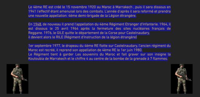 LÉGION ÉTRANGÈRE - 4ÈME ETRANGER Captu479