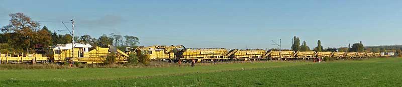 Gleisbauzüge im Einsatz Gbau0010
