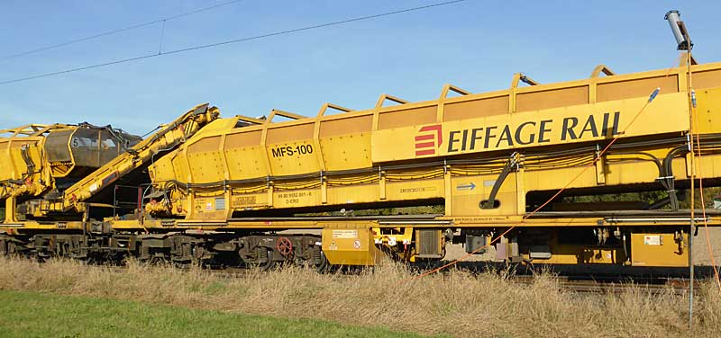 Gleisbauzüge im Einsatz Gbau0012