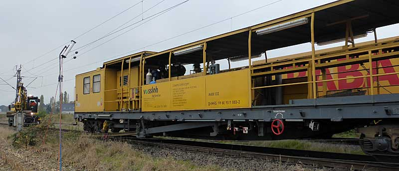 Gleisbauzüge im Einsatz Gbau0015
