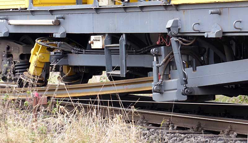 Gleisbauzüge im Einsatz Gbau0016