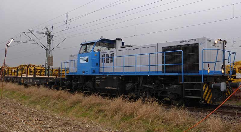 Gleisbauzüge im Einsatz Gbau0017