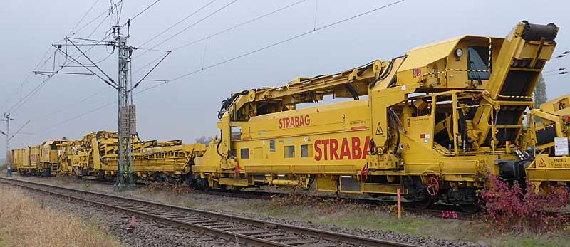 Gleisbauzüge im Einsatz Gbau0018