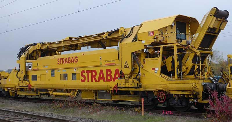 Gleisbauzüge im Einsatz Gbau0110