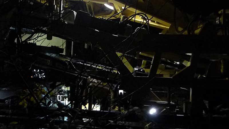 Gleisbauzüge im Einsatz Gbau0111
