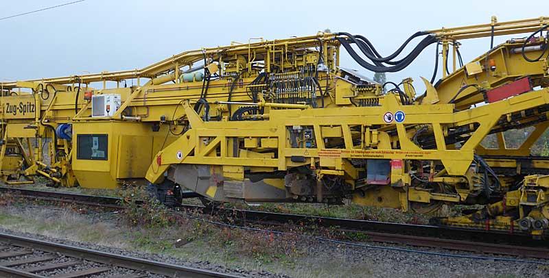 Gleisbauzüge im Einsatz Gbau0112