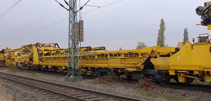 Gleisbauzüge im Einsatz Gbau0113