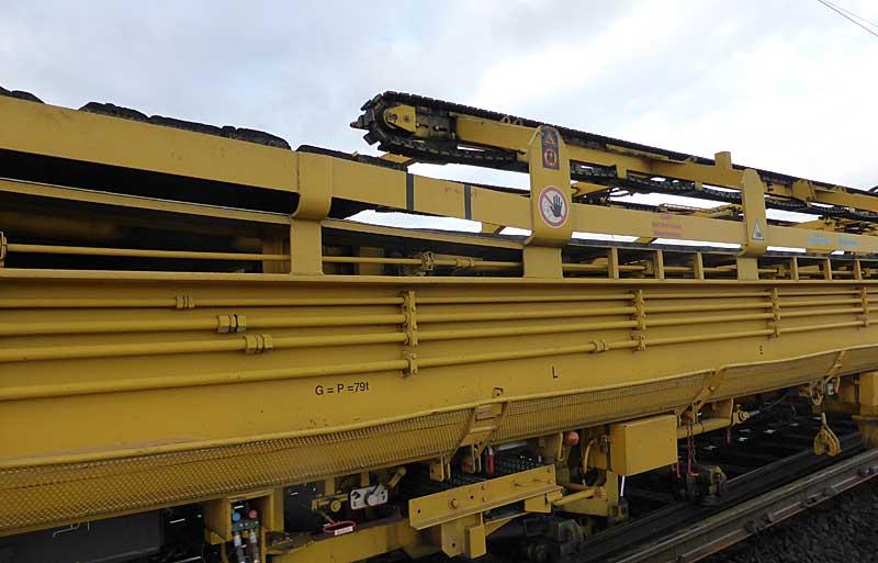 Gleisbauzüge im Einsatz Gbau0115