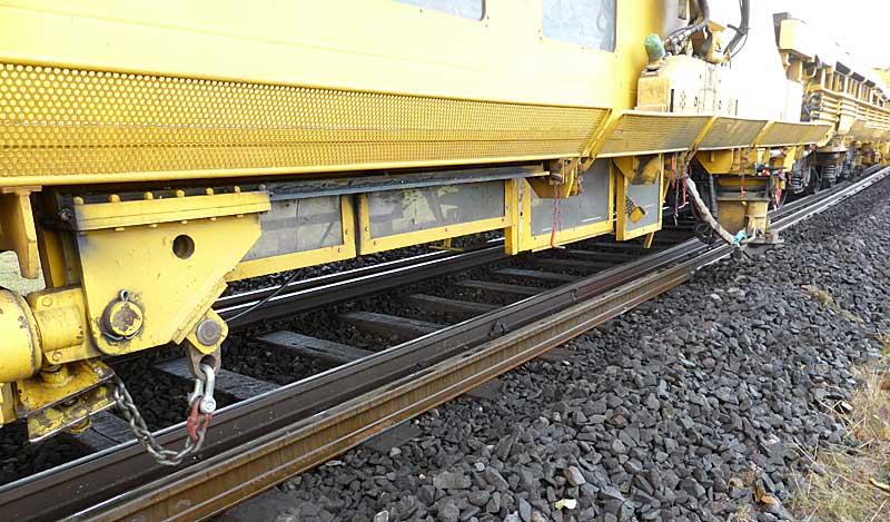 Gleisbauzüge im Einsatz Gbau0116