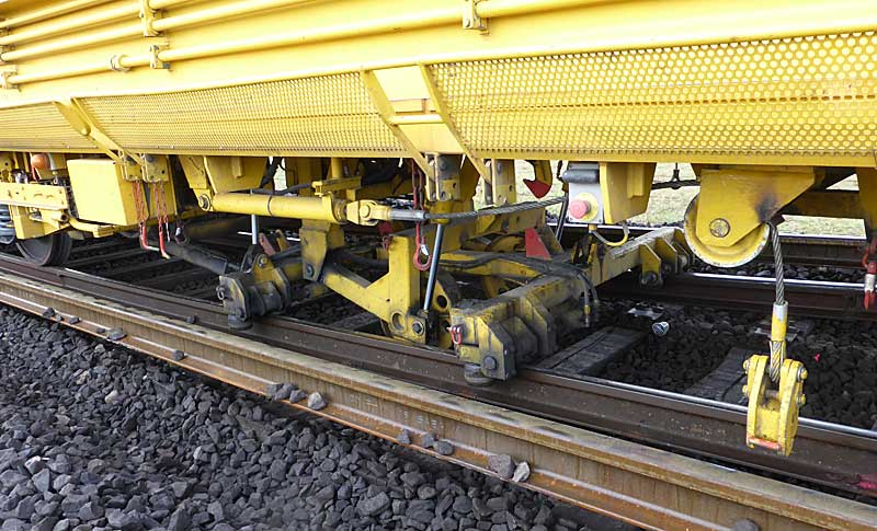 Gleisbauzüge im Einsatz Gbau0117