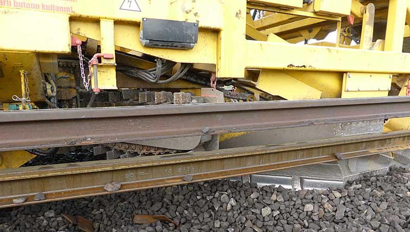 Gleisbauzüge im Einsatz Gbau0210