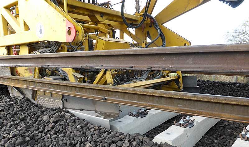 Gleisbauzüge im Einsatz Gbau0212