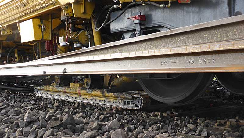 Gleisbauzüge im Einsatz Gbau0216