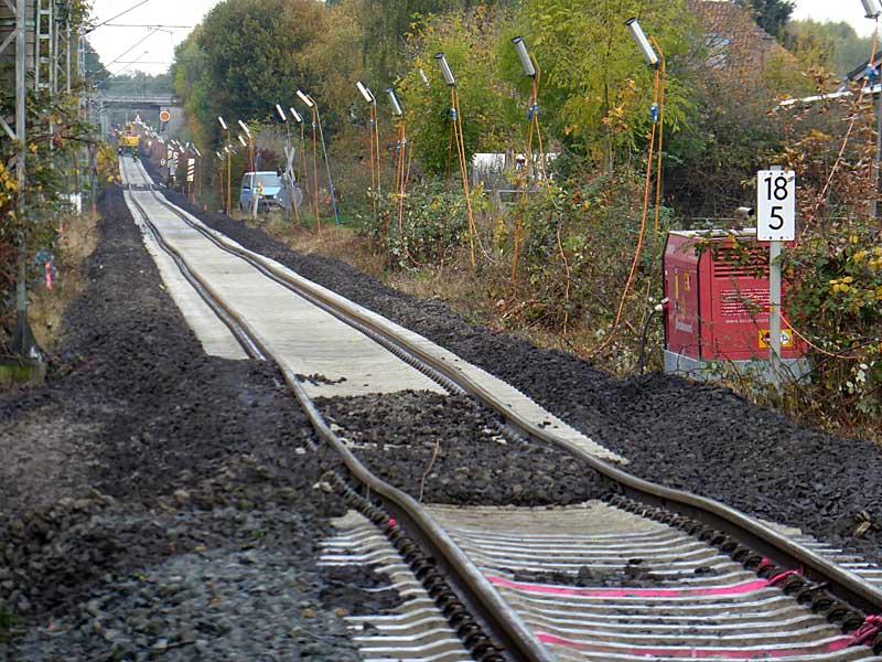 Gleisbauzüge im Einsatz Gbau0217