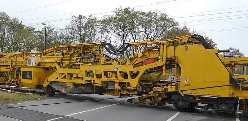 Gleisbauzüge im Einsatz Gbau0219
