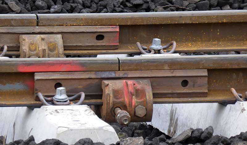 Gleisbauzüge im Einsatz Gbau0310