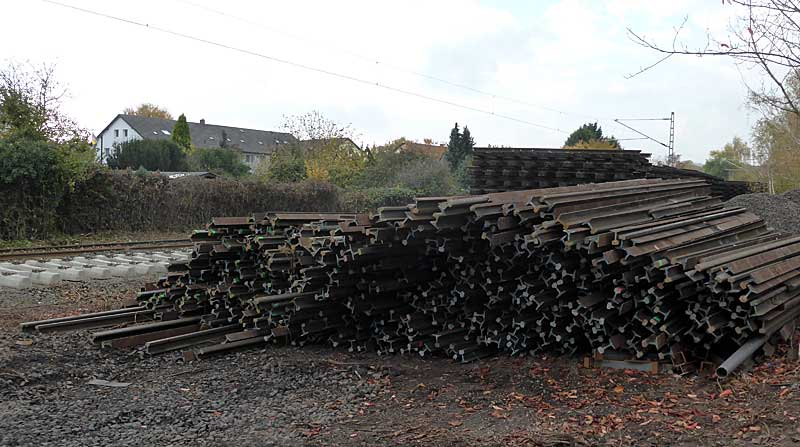 Gleisbauzüge im Einsatz Gbau0311