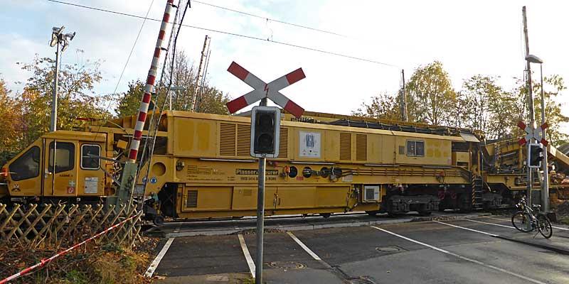 Gleisbauzüge im Einsatz Gbau0314