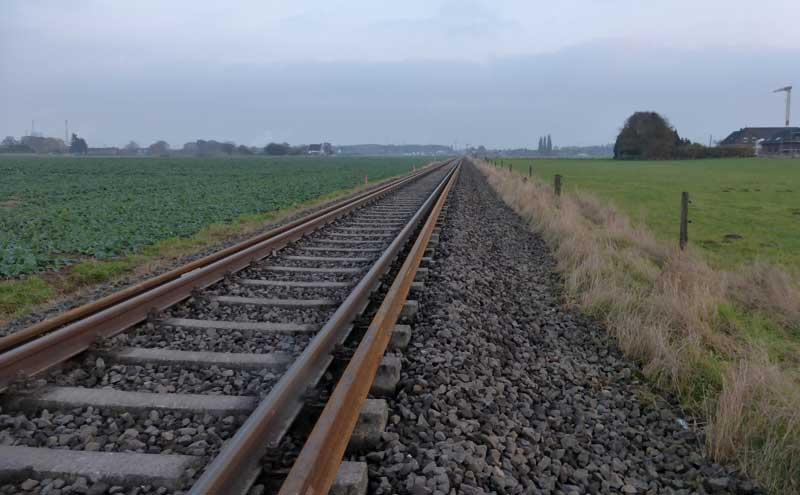 Gleisbauzüge im Einsatz Gbau0516
