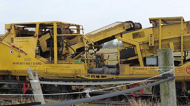 Gleisbauzüge im Einsatz Gbau0617