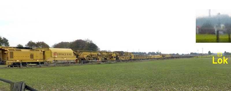 Gleisbauzüge im Einsatz Gbau0717