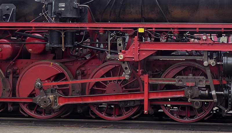 Lok der Baureihe 52, M 1:16 P1020910