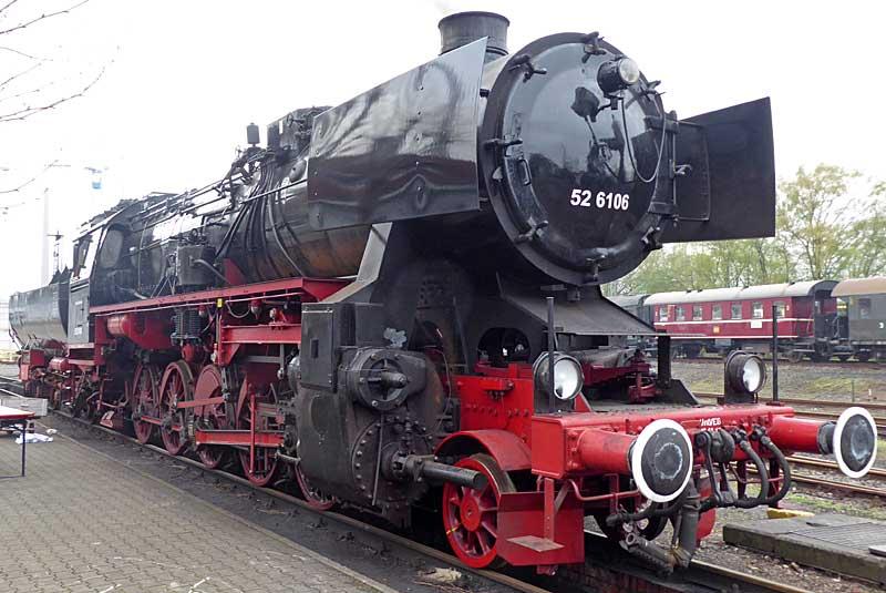 Baubericht Lok der Baureihe 52, M 1:16 P1020911