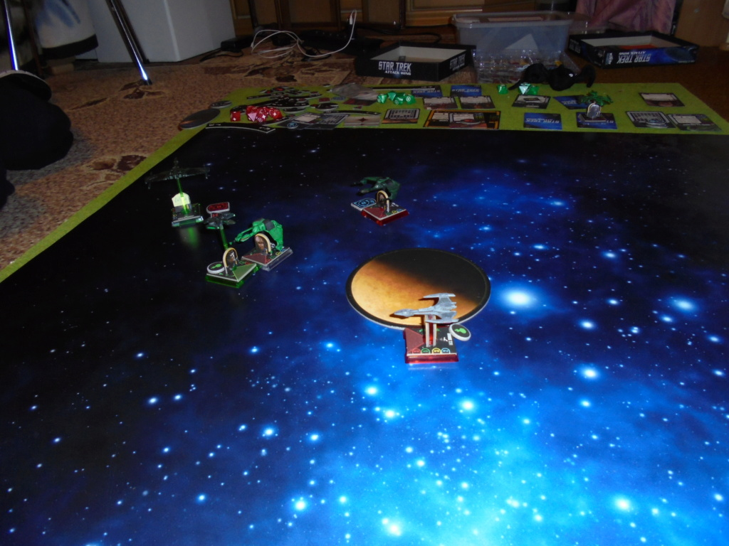 KLACH D´KEL :  130 SP Romulaner greifen nach den Sternen der Klingonen Dsc00231