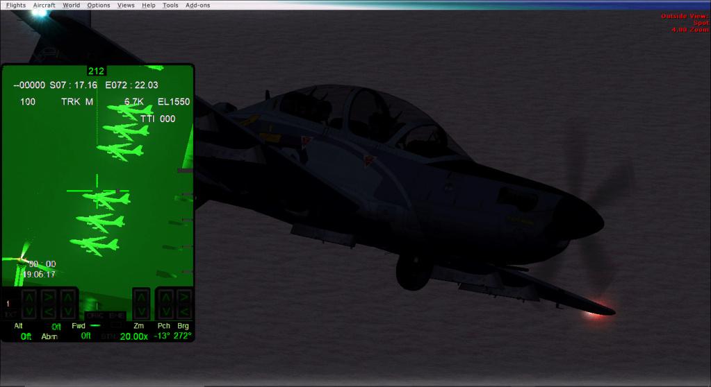 Operações noturnas com o A-29 super tucano. 2019-514