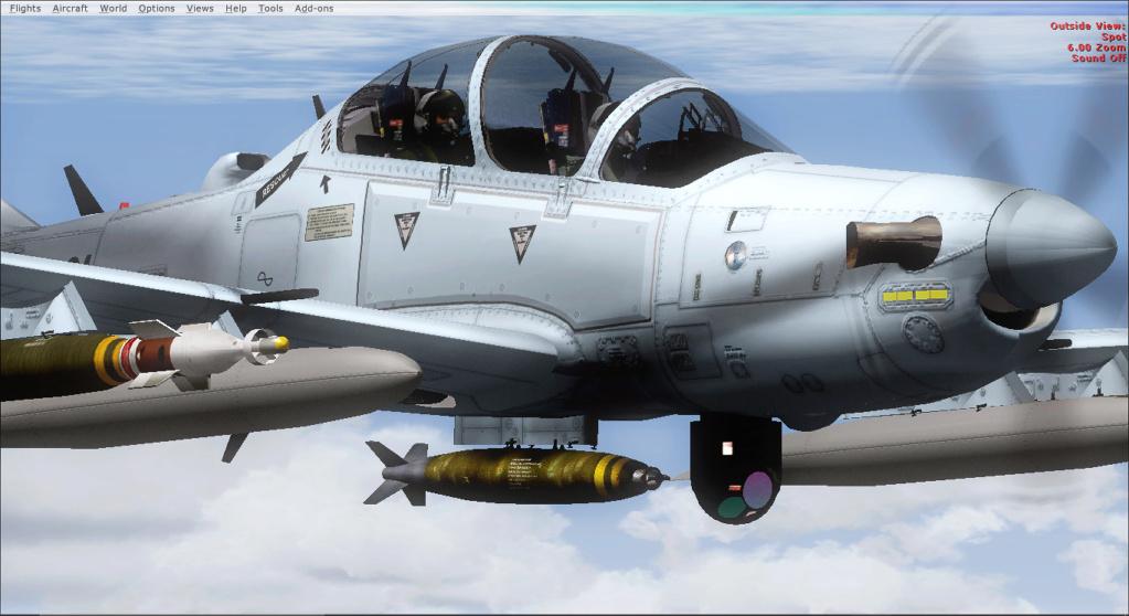 Operações noturnas com o A-29 super tucano. 2019-517