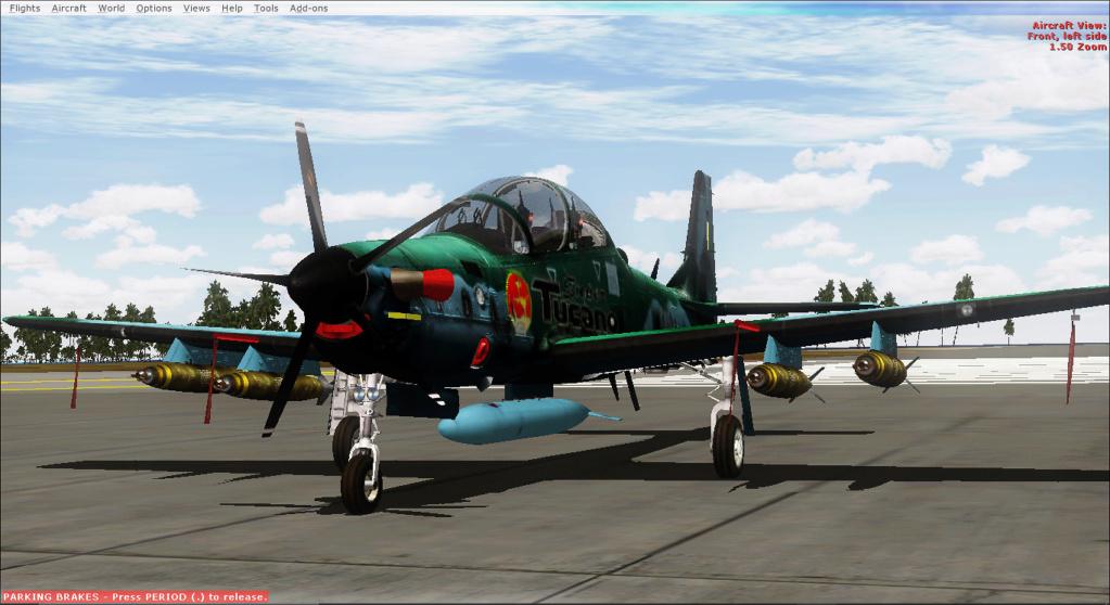 Operações noturnas com o A-29 super tucano. 2019-519
