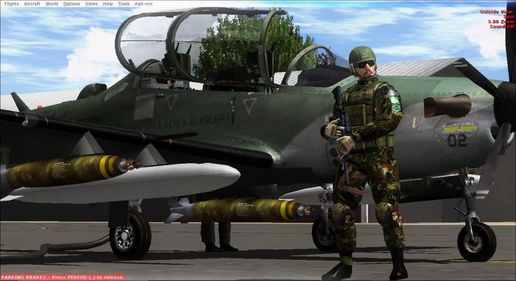 Operações noturnas com o A-29 super tucano. 2019-520