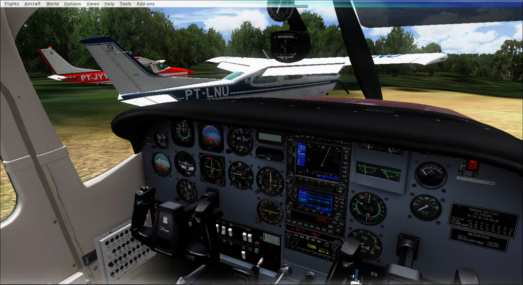Aviação de garimpo, vôo com os colegas 2020-514