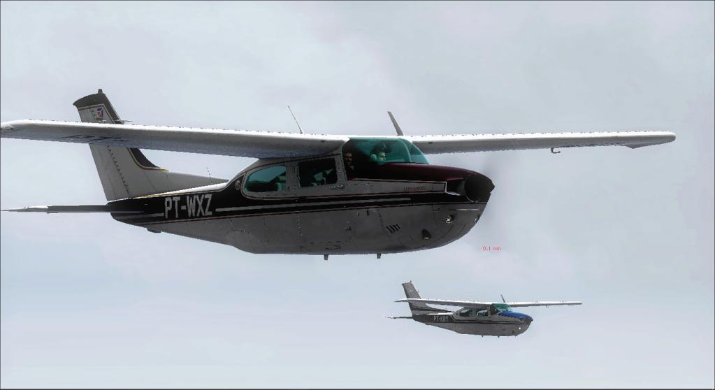 Aviação de garimpo, vôo com os colegas 2020-515