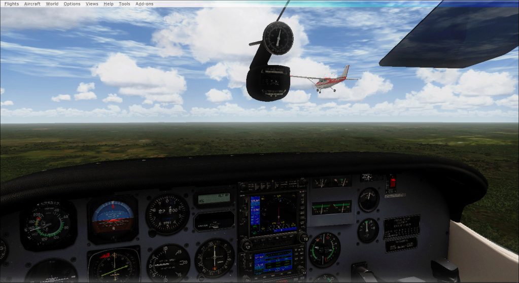 Aviação de garimpo, vôo com os colegas 2020-516