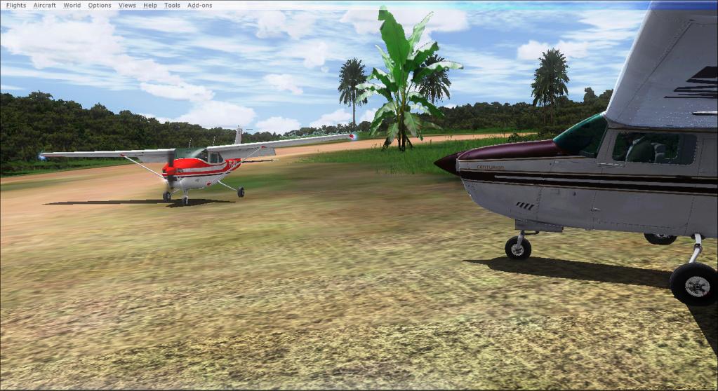 Aviação de garimpo, vôo com os colegas 2020-517