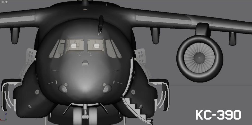 Operações noturnas com o A-29 super tucano. Kc390a10