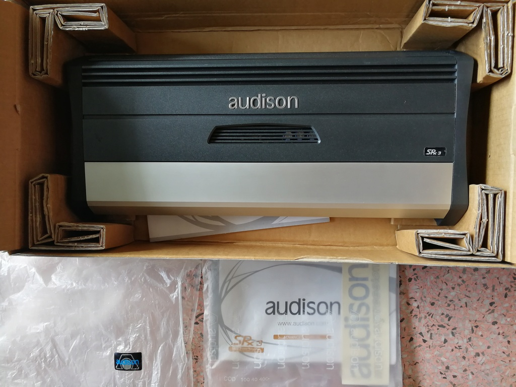 Audison SRX3 3  SQ Power Amplifier Img_2010