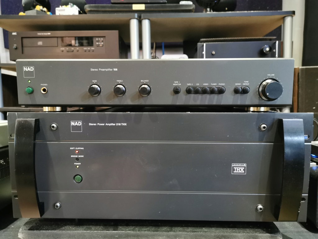 NAD Pre 106 and NAD 218 Power Amp Img_2023