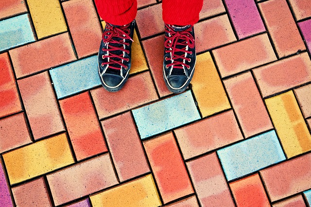 Замена традиционному покрытию из асфальта Feet-310