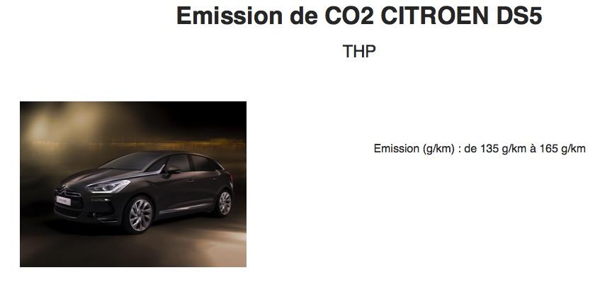 Pollution elle est ou la logique ? Co2310