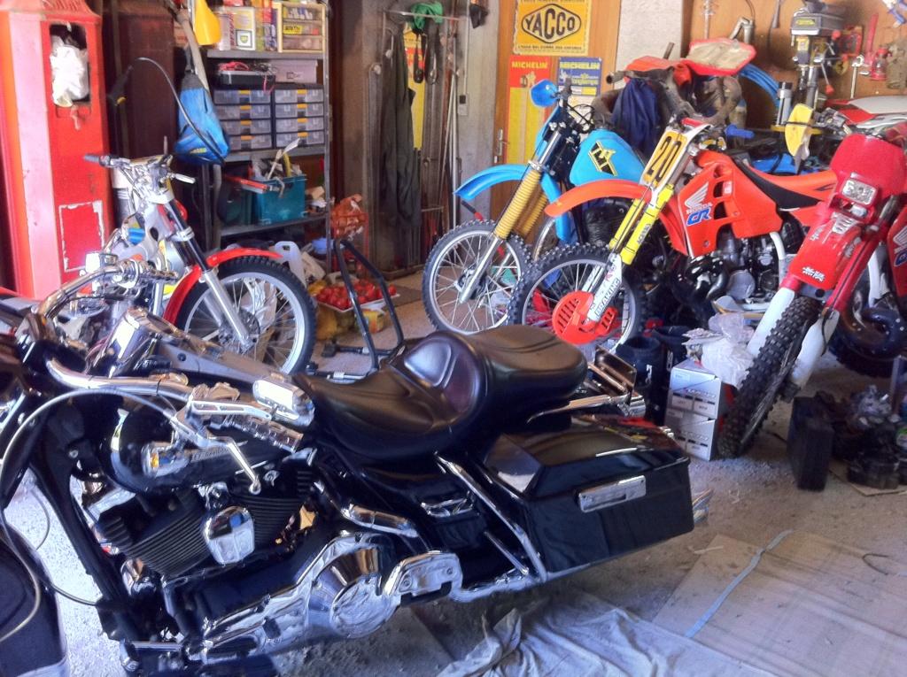 Elle est arrivée !!!! Harley Davidson Sporster 1200 Superlow T/XT 1200 T Img_0510